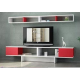 Mueble Modular Moderno Rack Panel Tv Lcd Living
