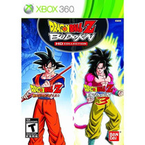 Dragon Ball Z Budokai Hd Collection - Xbox 360 | Lacrado