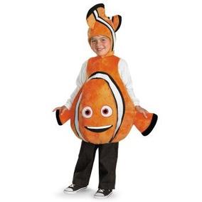 Disfraz De Pez Nemo Para Niñas Y Niños, Envio Gratis