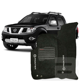 Tapete Carpete Confort Nissan Frontier 2008 ~2015 - Grafite
