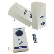 Campainha Residencial Dois Receptores Wireless Sem Fio