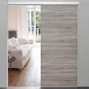 Puerta Corrediza Con Guía P/ Dormitorio, Baño, Cocina, Ect