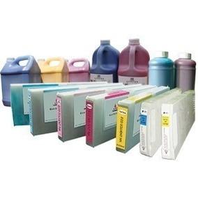 Tinta Ecosolvente,solvente Y Flush Para Plotter Nueva Garant