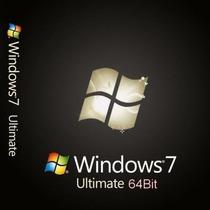 Licencia Original Permanente Windows 7 Ultimate 3 Pc Retail