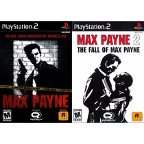 Max Payne 2 Para Playstation 2 (kit 2 Jogos Ps2 Tiro Guerra