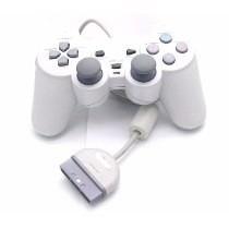 Kit C/ 2 Controles Play Station One+10 Cabos Av Nintendo!