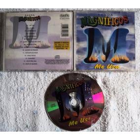 Cd Original - Banda Magníficos - Me Usa