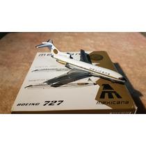 Mexicana B727-100 Xa-sel Jcwings Esc1/400--raro--