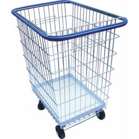Carrinho De Compras Para Condomínio 300litros Com Bandeja