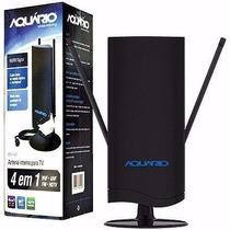 Antena Interna Digital Amplificada Dtv-4600 Aquário Com Nfe