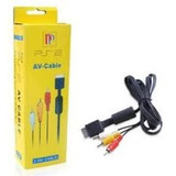Cable Av Rca Audio Video Playstation Ps1 Ps2 Ps3 1.8 Mt