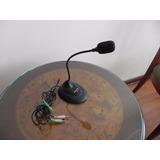 Microfono Halion De Escritorio Con Pedestal