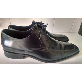 Sapato Brooksfield 100% Original, Couro Legítimo, Preto, 44.