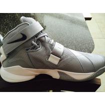 Bota Zapato Nike Lebron Soldier Ix Talla 9.5 +camiseta