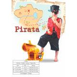 Fantasia Infantil Menino Pirata Sidnyl Carnaval