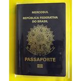 Capa Transparente Para Carteira Trabalho E Passaporte Unit.