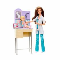 Boneca Barbie Mattel Quero Ser Pediatra