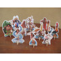 Kit Moana 10 Display De Mesa De 15 Cm, Festa ,infant,mdf