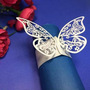 Papel 12x Elegante Mariposa Servilleteros Boda Fiesta De