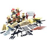 Soldados Segunda Guerra Mundial Britanic Compatible Con Lego