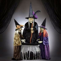 Juego De Brujas Para Halloween, Animadas