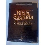 Bíblia Sagrada Fonte De Bençãos - Preta - C Carteira