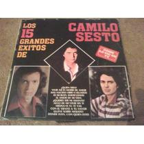 Discos Lp De Camilo Sesto, Los 15 Grandes Exitos