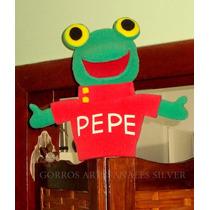 Sapo Pepe Titere En Goma Espuma