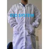 Jaleco Avental Anti-estático C/filame. De Carbono Esd System