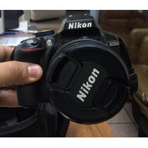 Camara Nikon D3300 Y Memoria 32gb Como Nueva Con Accesorios