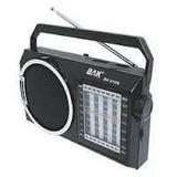 Aparelho De Som Bak Bk-810 São 10 Bandas Rádio