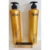 Tahe Shampoo ,mask 800ml Y Keratina Gold Ml