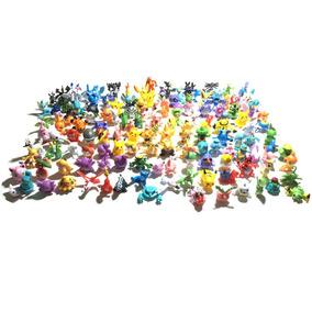 144 Figuras Pokemon 2 A 3 Cm Envío Gratis