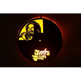 Luminaria Disco De Vinil - Lps - Tema Janis Joplin