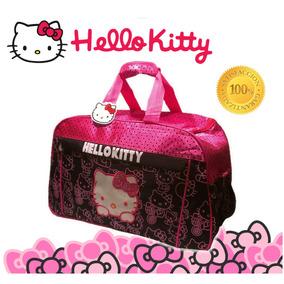 Bolso Para Damas, Pañalera, Bolso Viajero Hello Kitty