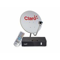 Kit Claro Tv Pré Pago Com Antena - Livre 2 Anos