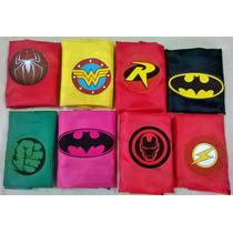 Capas De Super Heroes De Tafeta. Souvenir