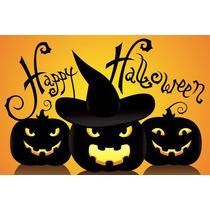 Painel Decorativo Festa Infantil Halloween Dia Bruxas (mod4)