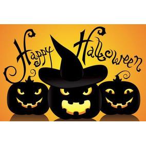 2 Painel Decorativo Festa Halloween Dia Bruxas (mod4)