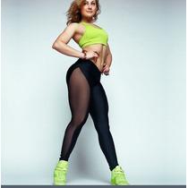 Leggins Transparencias Trasparente Gym Fitness Workout Yoga