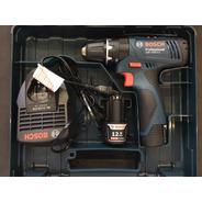 Taladro Atornillador Percutor Bosch Gsb1200-2-li 2 Bat 12v