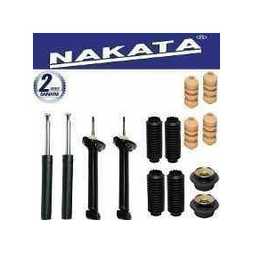 Kit 4 Amortecedor Nakata Diante + Trase+kit Saveiro Quadrada