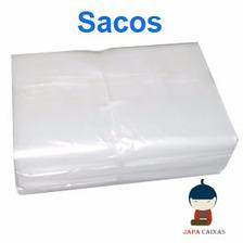 Saco Plástico Virgem Transparente Pebd C/ 10kg Diversos Tam.