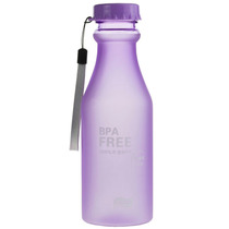 Botella Forma De Refresco Para Agua 550ml Color Morado H1183
