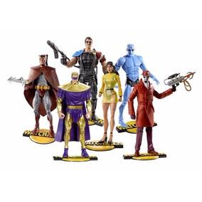 Watchmen Set Completo E Lacrado! Dc - Mattel