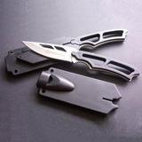 Cuchillo Tactico Supervivencia Smith And Wesson Acero Campin