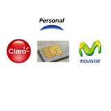 7 Chip Prepagos Gsm Todas Las Companias Claro Personal Movi