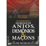 Dvd Segredos De Anjos, Demônios E Maçons Dan Bursteins