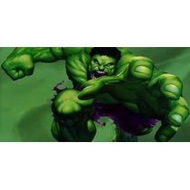 Painel Decorativo Festa David Banner Hulk [2x1m] (mod1)