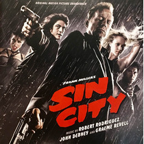 Cd Sin City Frank Miller Soundtrack Importado Jessica Alba